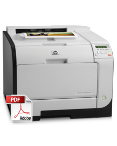 HP Color LaserJet M351 M451 Service Manual - Repair Printer
