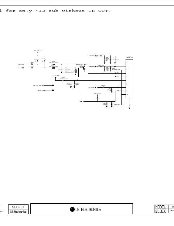 Lg Lcd Tv 26cs460 26cs460s 26cs460t Service Manual