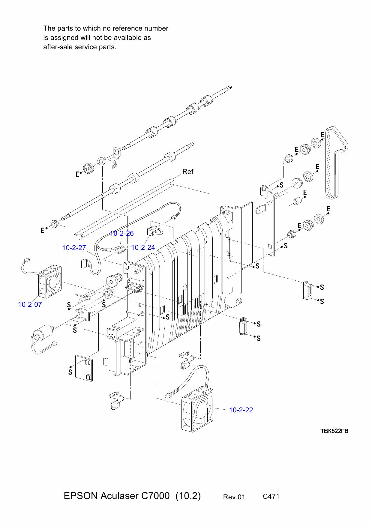 Epson Aculaser C8600 C7000 Service Manual