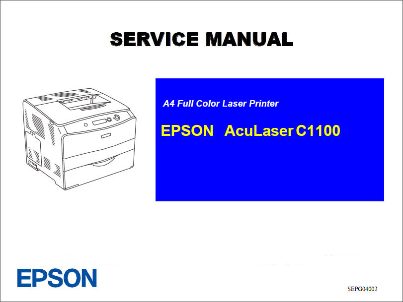 Epson Aculaser C1100_Color Service Manual-1