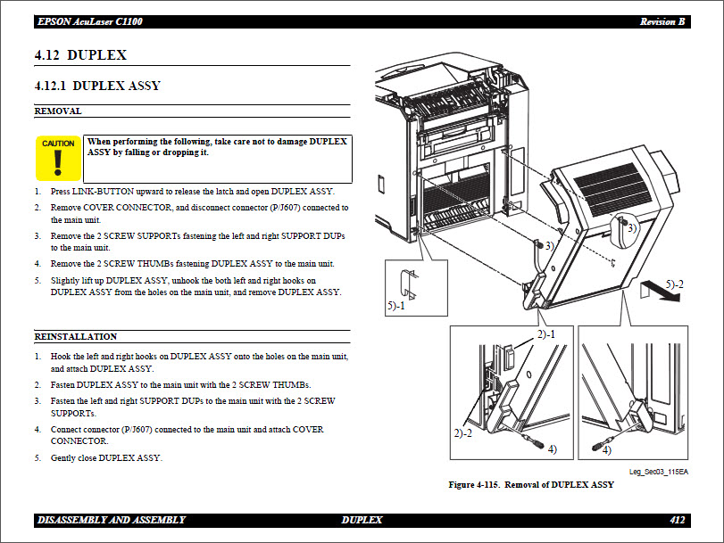 Epson Aculaser C1100_Color Service Manual-6