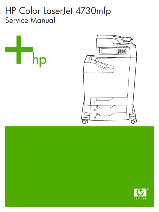 HP Color LaserJet 4730 MFP Service Manual-1