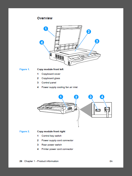 HP Color LaserJet 8550 MFP Service Manual-2