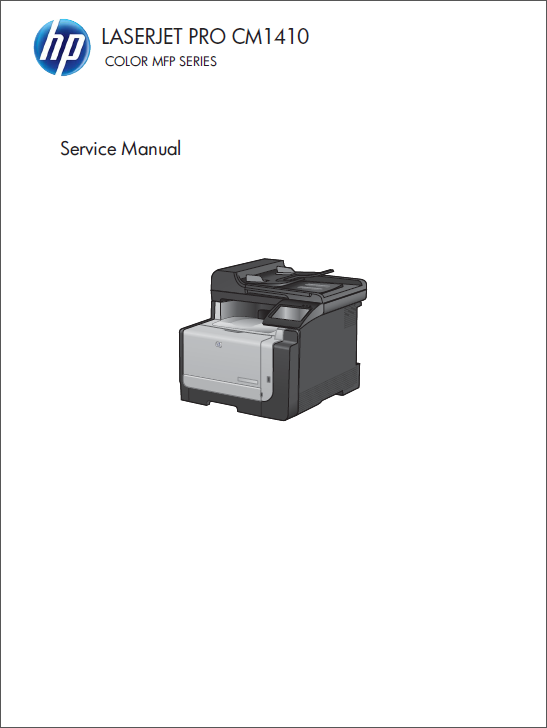 HP Color LaserJet CM1410 Service Manual-1