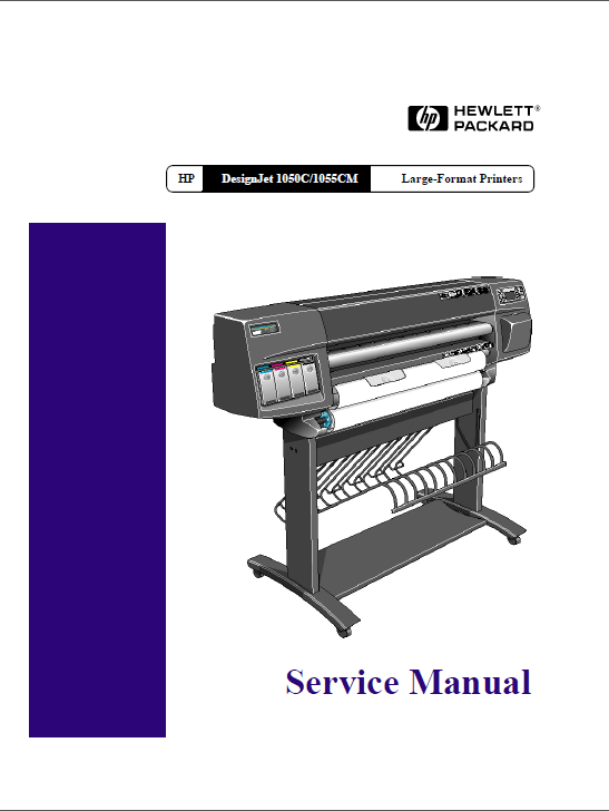 HP Designjet 1050C 1055CM Service Manual-1