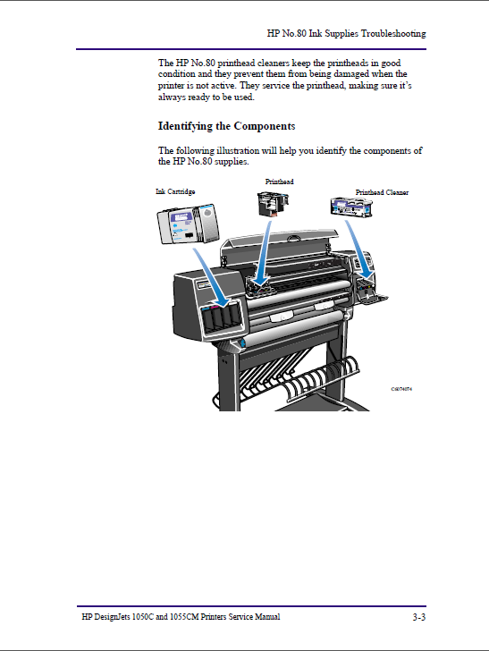 HP Designjet 1050C 1055CM Service Manual-2