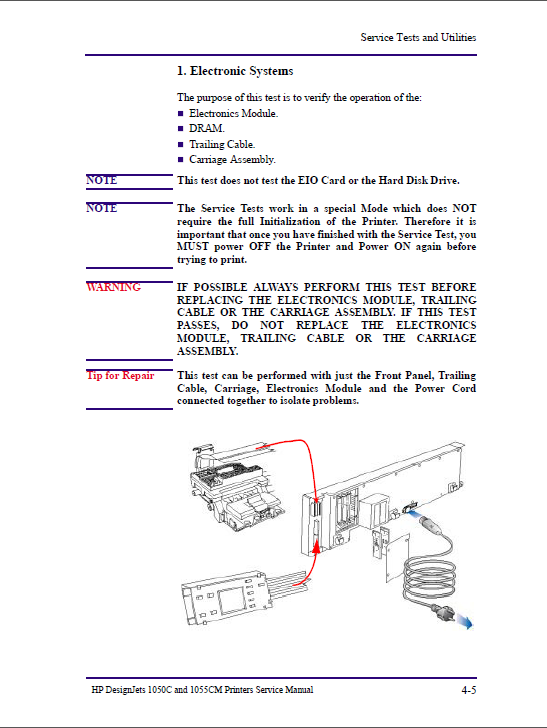 HP Designjet 1050C 1055CM Service Manual-3