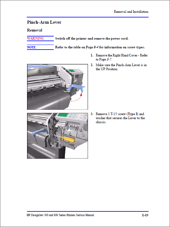 HP Designjet 500 500ps 800 800ps Service Manual-4