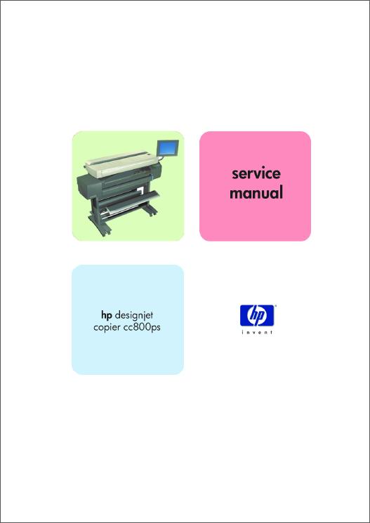 Hp Designjet Copier Cc800ps Service Manual
