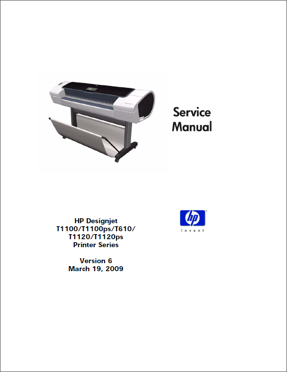 HP_Designjet_T1120_T1100_T610_Service_Manual-1
